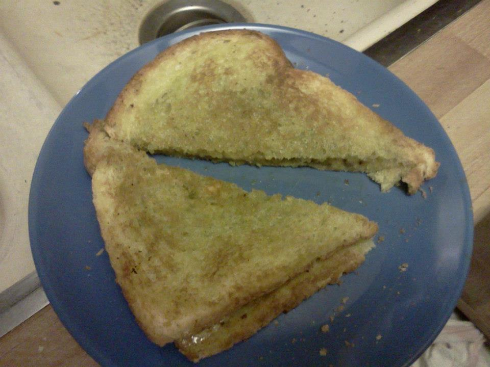 green-grilled-cheese